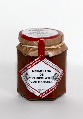 MARMELLATA DI CIOCCOLATO CON ARANCE EL MONUMENTO HUELVA