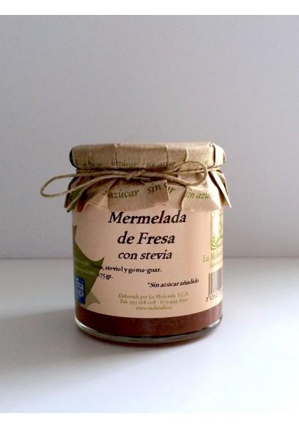 MERMELADA DE FRESA SIN AZUCAR CON STEVIA