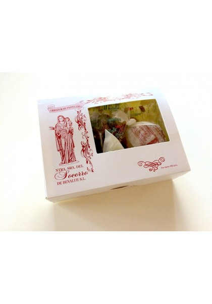 POLVORON CAKE BOX