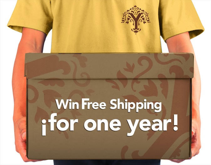 Free Shipping for 1 Year!