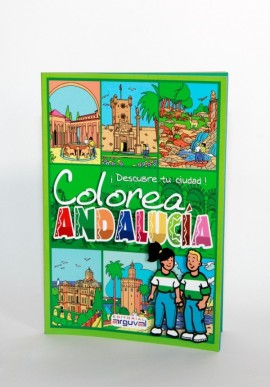LIBRO COLORA L'ANDALUSIA