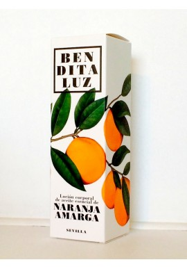 BODY & HAND CREAM BITTER ORANGE BENDITALUZ SEVILLE
