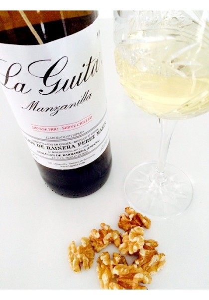 MANZANILLA LA GUITA DRY SHERRY WINE
