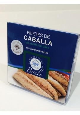 FILETES DE CABALLA DEL SUR EN ACEITE BAELO
