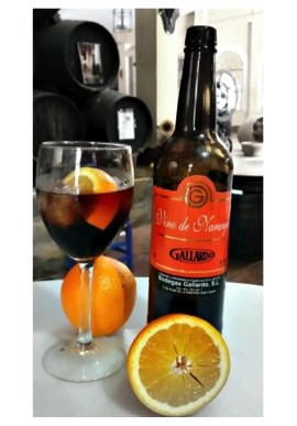"ORANGE WINE ""VINO NARANJA"" BODEGA GALLARDO"