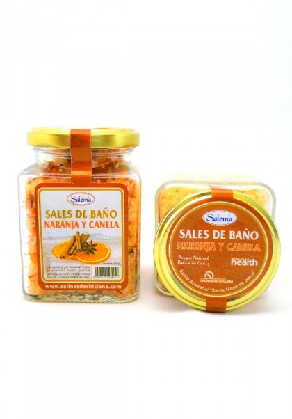 BATH SALT ORANGE AND CINNAMON FROM ATLANTIC OCEAN