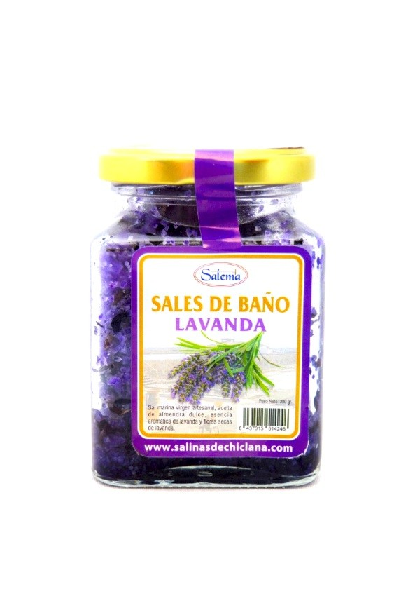 Sal de bano lavanda natural oceano atlantico - Banos de sal y vinagre ...