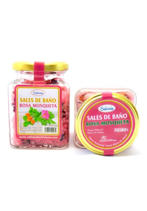 Sal de ba o natural rosa mosqueta - Banos de sal y vinagre ...