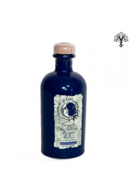 OLIVAR DE LUNA ORGANIC EXTRA VIRGIN OLIVE OIL BLUE GLASS BOTTLE 500 ML