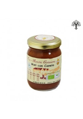 ORGANIC HONEY WITH CINNAMON RANCHO CORTESANO