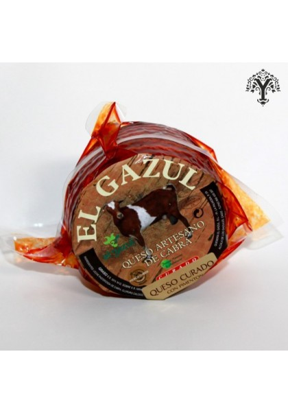EL GAZUL MATURE GOAT CHEESE WITH PAPRIKA
