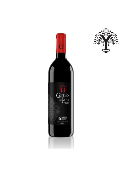 "RED WINE ""CJ"" CORTIJO DE JARA OAK WINERY CADIZ"