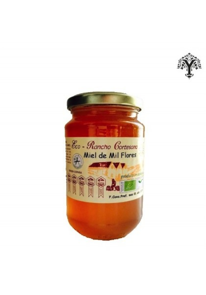 ECOLOGICAL MIXED FLOWER HONEY RANCHO CORTESANO