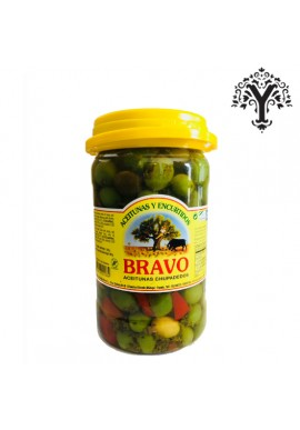 SPANISH OLIVES CHUPADEDOS MALAGA BRAVO 1,2 kg.