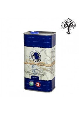 OLIVAR DE LUNA ECOLOGICAL EXTRA VIRGIN OLIVE OIL 100% ORGANIC FARMING TIN 1 LT.