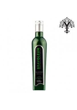 HIGH QUALITY OLIVE OIL EXTRA VIRGIN PREMIUM BRAVOLEUM PICUAL 500 ML