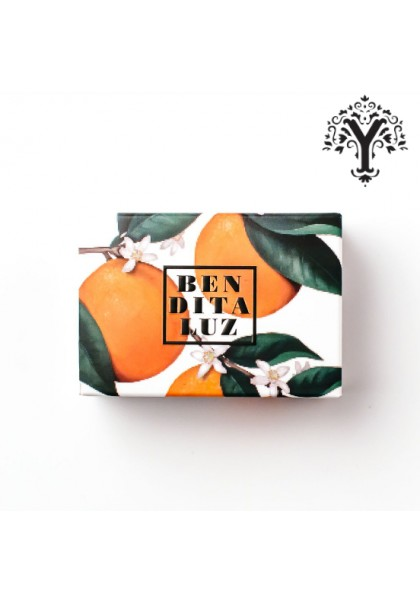 BENDITALUZ OIL SOAP WITH BITTER ORANGE BLOSSOM PETALS SEVILLA
